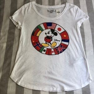 Abercrombie & Fitch Disney Mickey flag T-shirt
